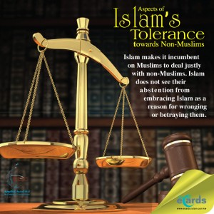 Justice with non-Muslims