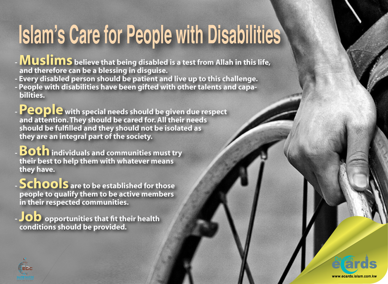 Islam's Care for People with Disabilities