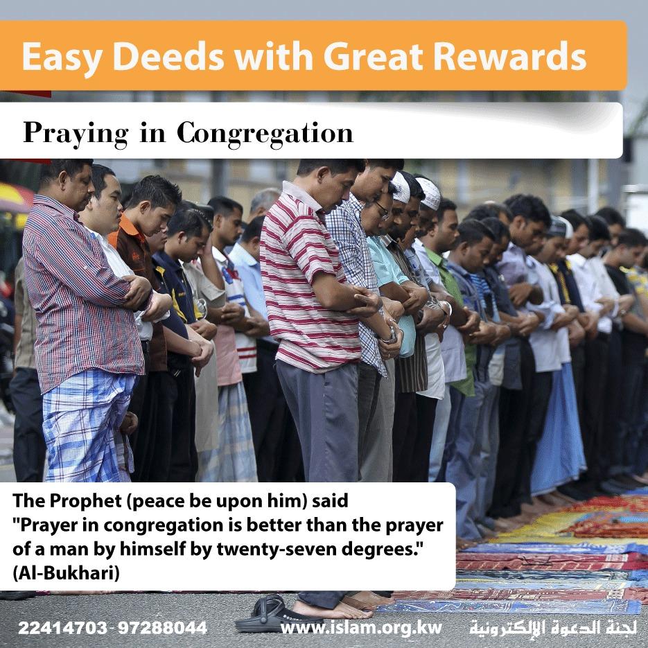 Praying in Congregation