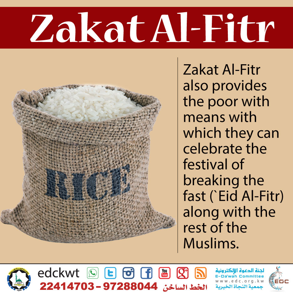 Purpose of Zakat Al-Fitr