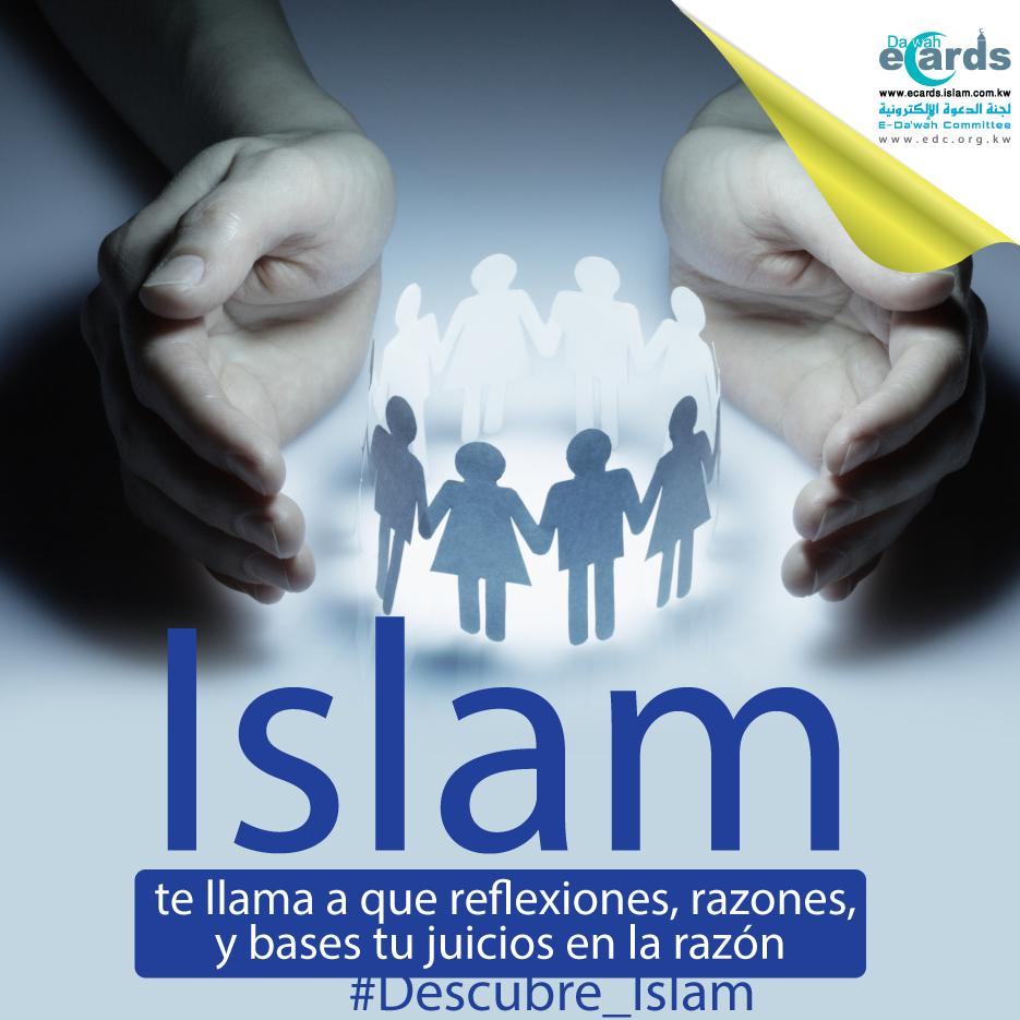 Islam te llama a que reflexiones