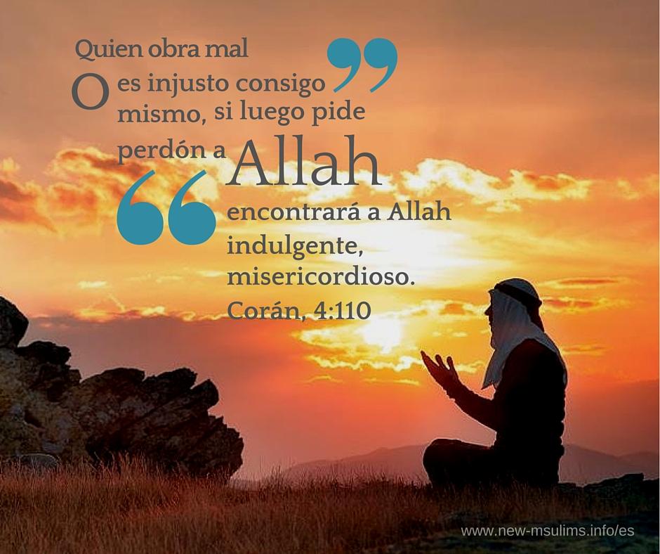 El arrepentimiento a Allah