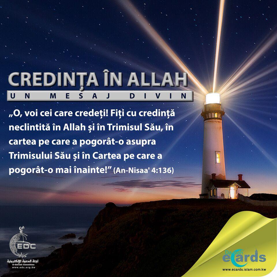 credinta in Allah