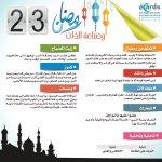 رمضان وصناعة الذات (23)