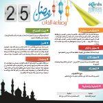 رمضان وصناعة الذات (25)
