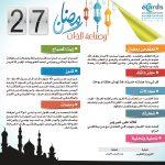 رمضان وصناعة الذات (27)