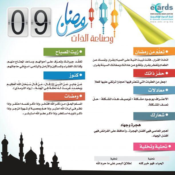رمضان وصناعة الذات 9