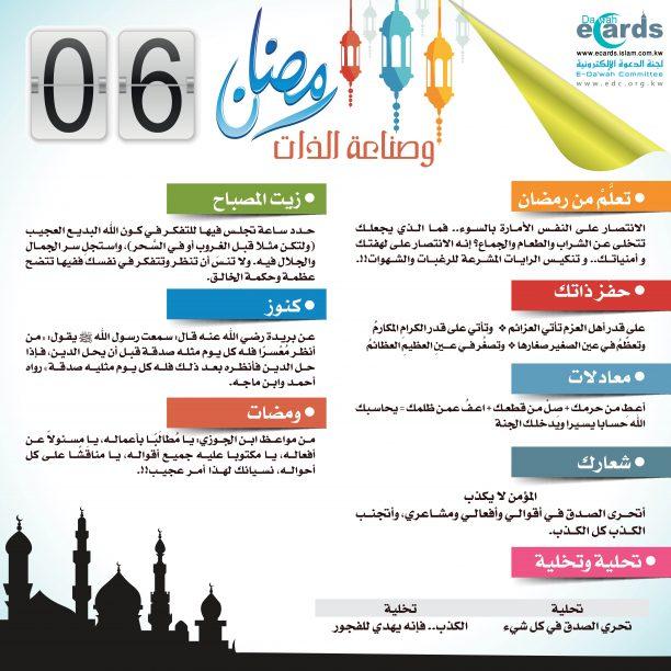 رمضان وصناعة الذات