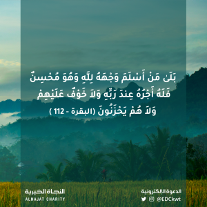لَا خَوْفٌ عَلَيْهِمْ وَلَا هُمْ يَحْزَنُونَ