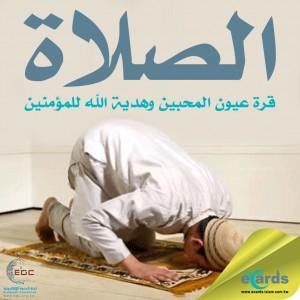 الصلاة قرة عيون المحبين