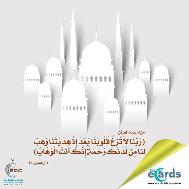 من أدعية القرآن (3)