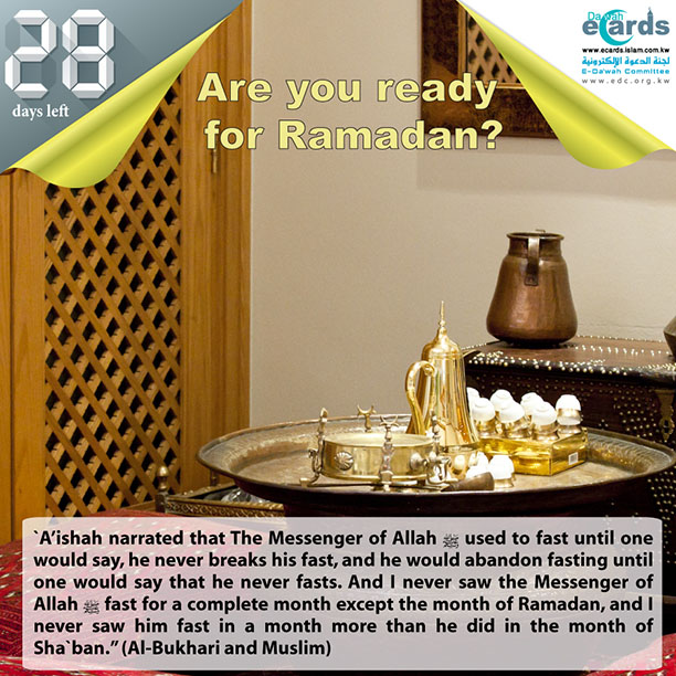 603- Virtue of fasting in Sha`ban