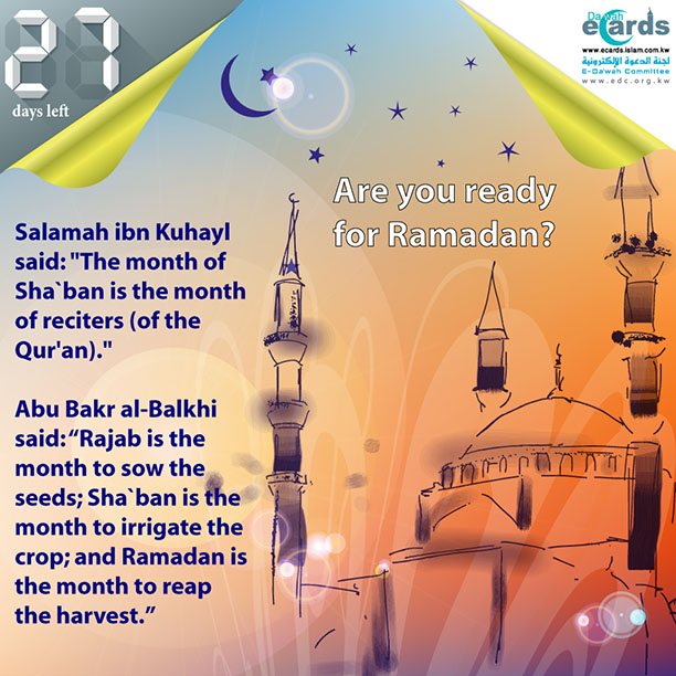 604-Sha`ban is the Month of Reciters