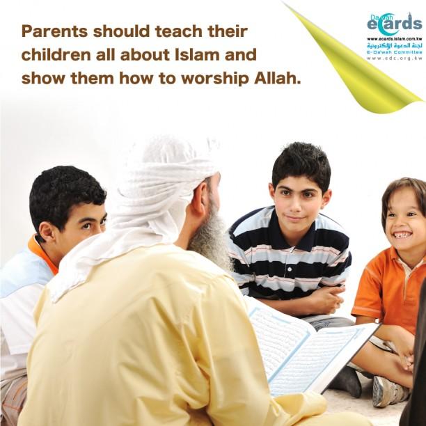 698- Teaching Children about Islam