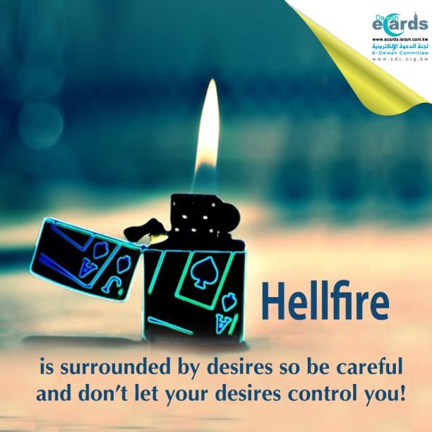 lighter- Hellfire