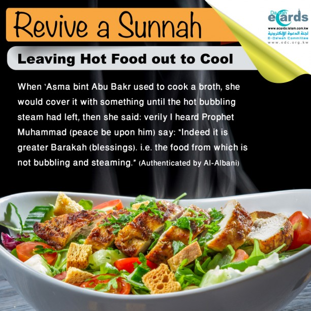 hot food- Leaving Hot Food out to Cool