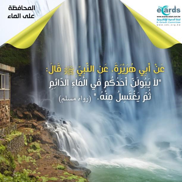 المحافظة على الماء