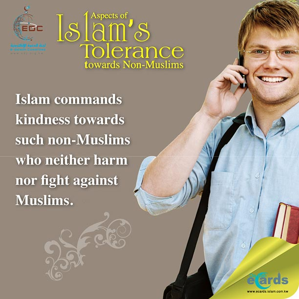Aspects of Islam's Tolerance towards non-Muslims