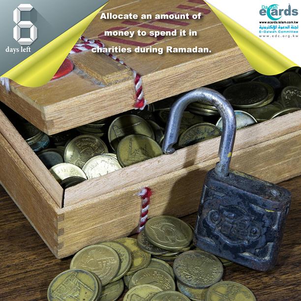 Spending in Charities during Ramadan