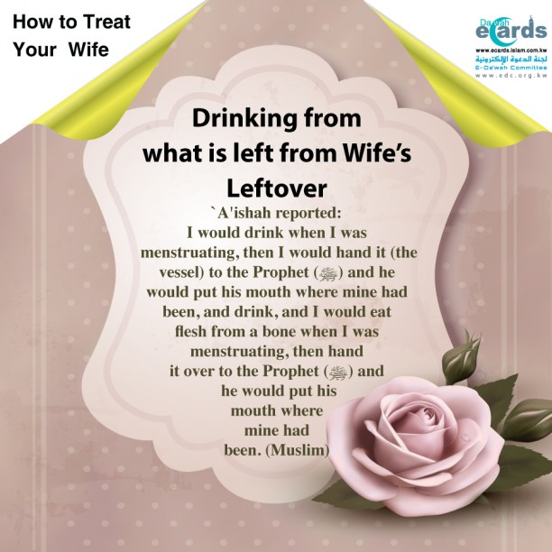 Drinking from what is left from Wife's Leftover