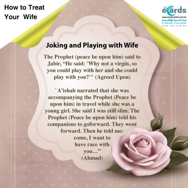 Joking and Playing with Wife