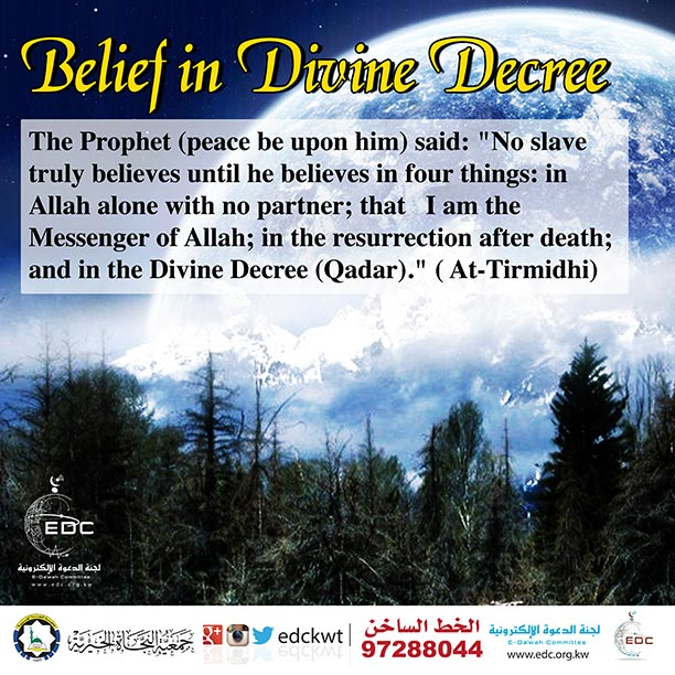 Belief in Divine Decree