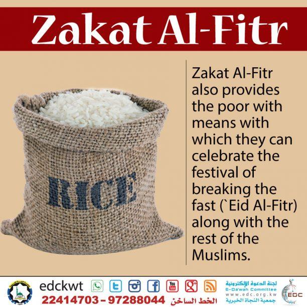 Purpose of Zakat Al-Fitr