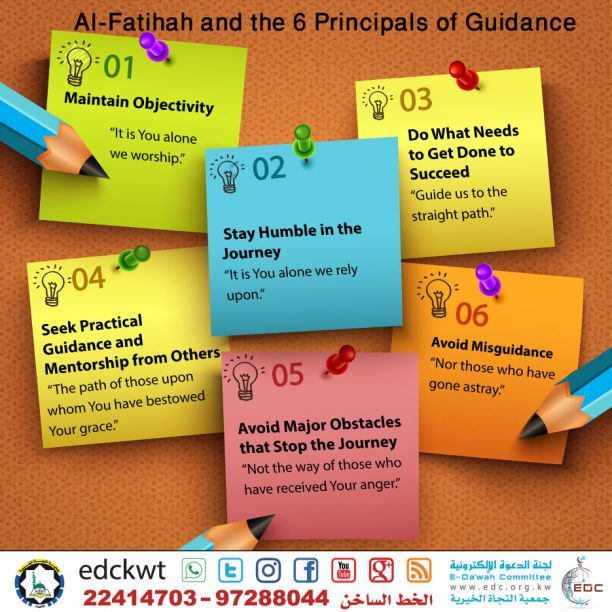 The Principals of Guidance