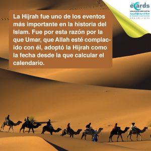 La Hijrah es el principio del calendario islámico