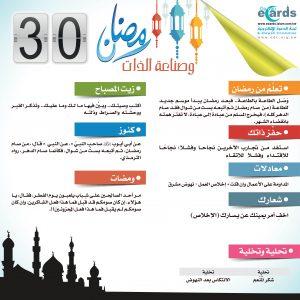 رمضان وصناعة الذات (30)