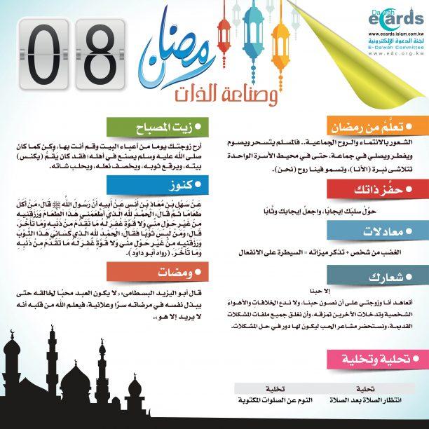 رمضان وصناعة الذات 8