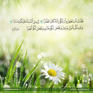 استغفروا ربكم