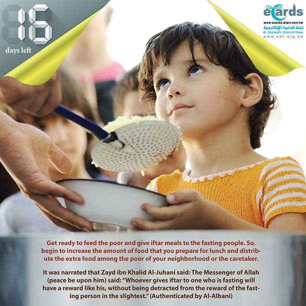 616- The Virtue of Giving Iftar