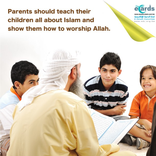 698- Teaching Children about Islam