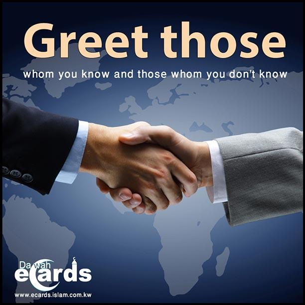Etiquettes of Greeting in Islam