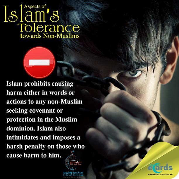 Tolerance towards Non-Muslims